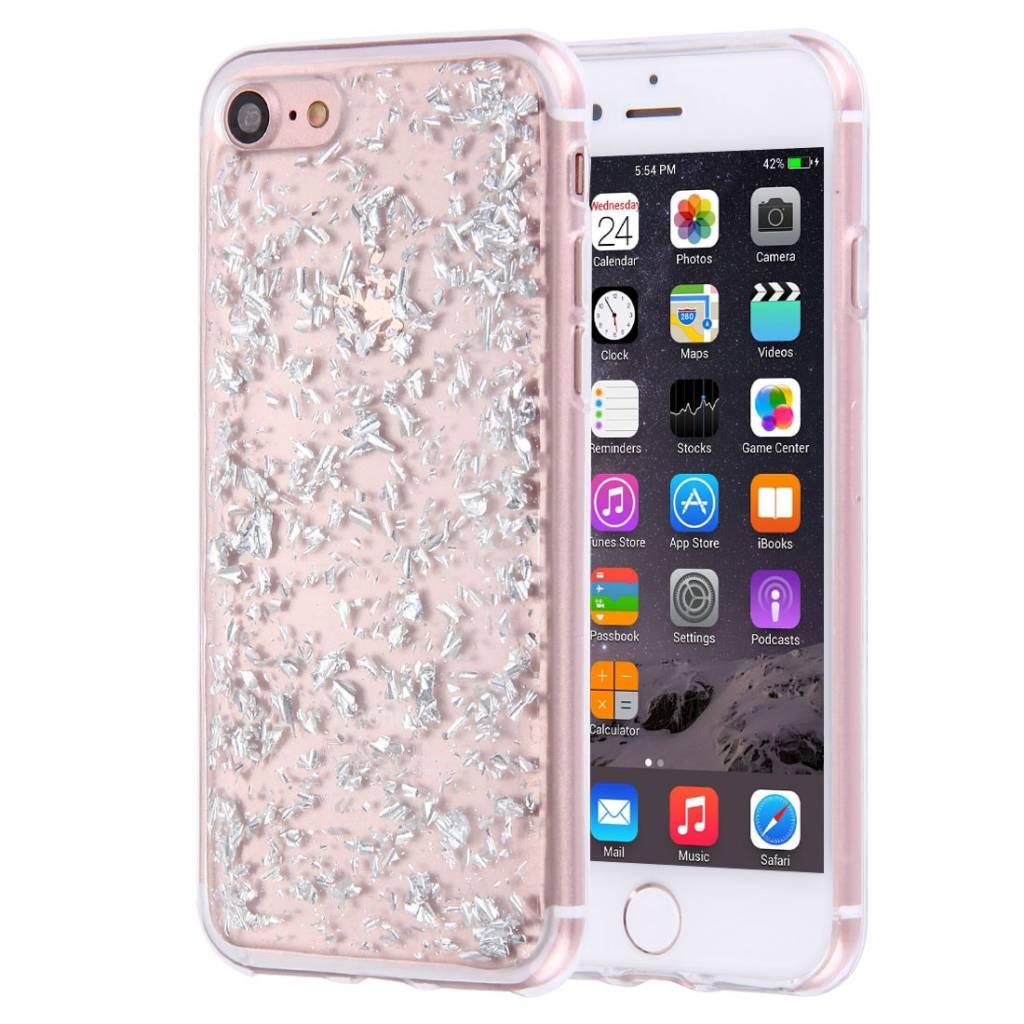 casimoda-iphone-8-7-telefoonhoesje-zilveren-blaadj